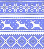 Set  jacquard patterns