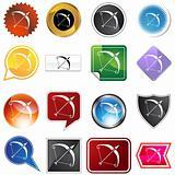 Multiple Buttons - Sagittarius