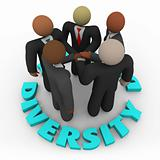 Diversity - Business Team of Men and Women