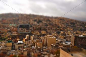Amman Tilt shift