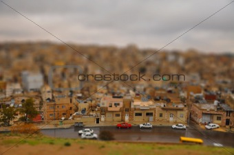 Amman street Tilt shift