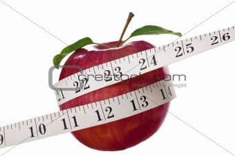 Apple and Tape Measure