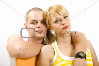 closeup picture of a man and woman