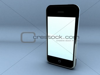 Touch screen cellphone.