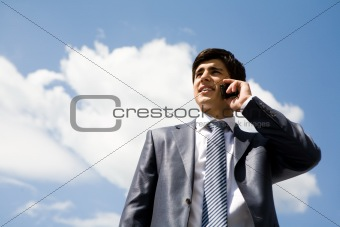 Calling man