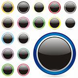 fully editable vector web buttons with details ready to use