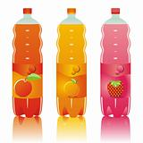 fully editable vector isolated carbonated drinks set