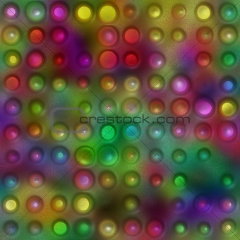 grunge 3d dots background
