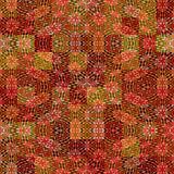 warm batik rags pattern