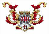Coat of arms vector