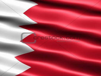 Flag of the Kingdom of Bahrain