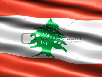 Flag of the Republic of Lebanon