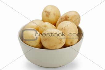 Potatoes (with clipping path)