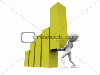 business success and growth concept