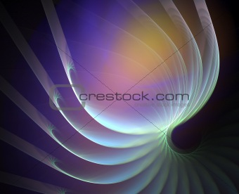 Artificial abstract background