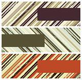grunge stripes banners