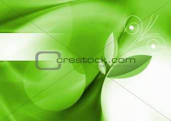 green 3-d wallpaper