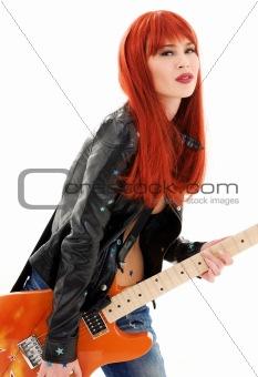 guitar babe