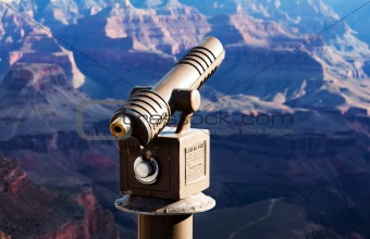 Tourist Telescope at the Grand Canyon