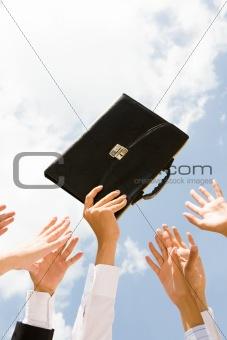 Briefcase rush