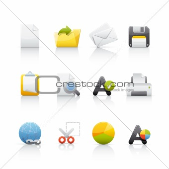 Icon Set - Office and Business