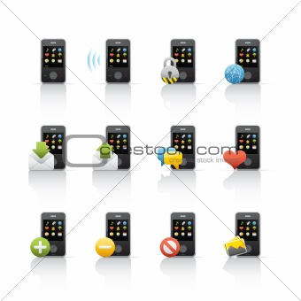 Icon Set - Mobile Communications