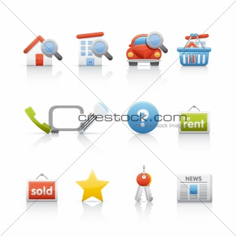 Icon Set - Real Estate