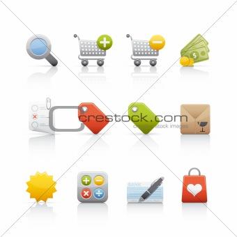 Icon Set - Shopping