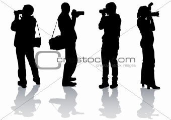 Four photographers