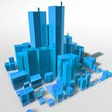 Abstract generic city