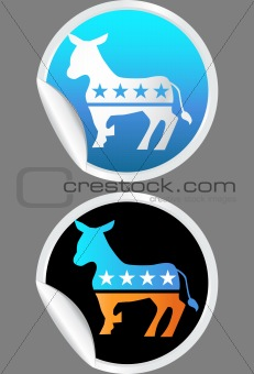 Campaign Party Stickers