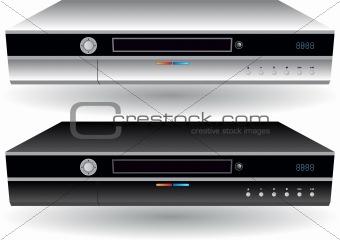 3D Image of 2 DVRs