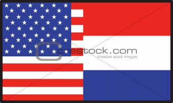 America  Holland Flag