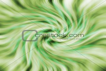 abstract green whirl background