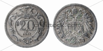 old austro-hungarian coin
