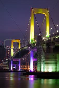 Tokyo Rainbow bridge vertical