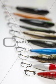 fishing hook isolated on white