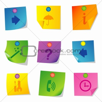 Vector icons Set seven