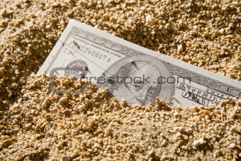 Money flow as sand