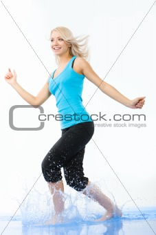 Energetic female