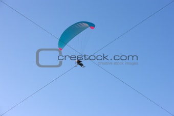 Paraplane flying