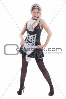 Attractive maid
