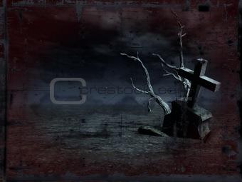 grunge grave