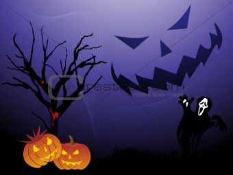 abstract halloween wallpaper