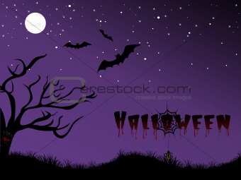 abstract halloween background, wallpaper