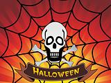 vector illustration of halloween banner