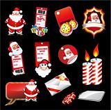 Set fo various Christmas Elements
