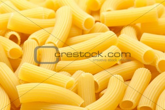 Rigatoni pasta background