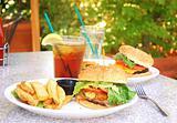 Outdoor Burgers