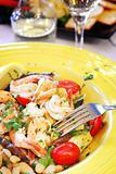 Mediterranean Seafood Saute